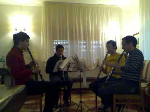Quartetto Glienzi | Suite for four equal clarinets - Stewart Smith -