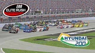 Nascar Racing 2003 - ERR Truck Series League Race - Atlanta - Hyundai Construction Equipment 200