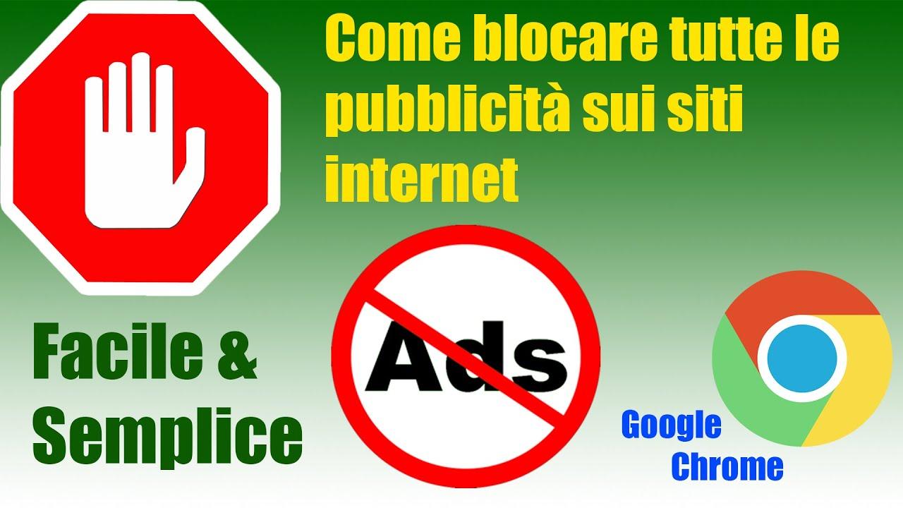 Come eliminare le pubblicità fastidiose sui browser internet