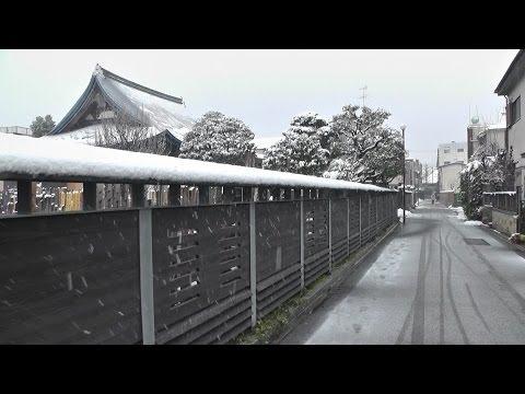 東京・台東区&荒川区 午後の「雪の谷中」  Yanaka of snow in the afternoon,Tokyo