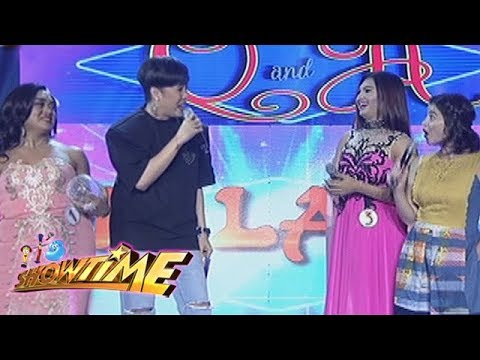 It's Showtime Miss Q & A: Anne Curtis finds Queen Isabella Lopez's face unforgettable