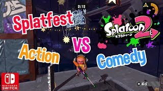 [Live Stream🔴] Nintendo Splatoon 2 Splatfest Action vs Comedy Gameplay Multiplayer Battle Switch