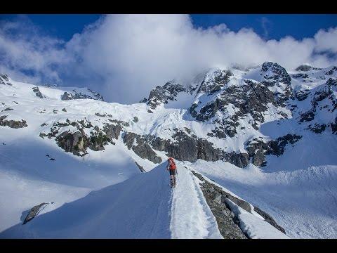 Pelion Mountain, Tantalus Range in Squamish BC, Ski Mountaineering