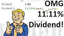 IVR stock research, Invesco Mortgage Capital pays 11% dividends!