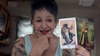 Hope Hicks Has the Worm Turned ? -------   Ganga Tarot  -