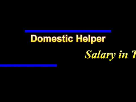 Domestic Helper salary in Turkey