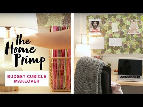 How to update your office cubicle for under $50 | The Home Primp
