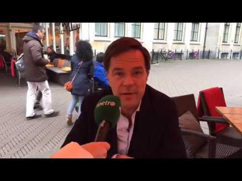 Metro stelt lezersvragen aan  minister-president Mark Rutte