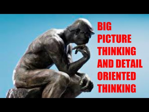 Goal Tutorials: Big Picture Thinking and Goal Oriented Thinking