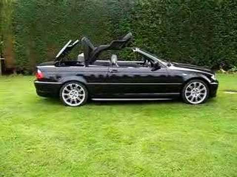 BMW 330Ci convertible opening  YouTube