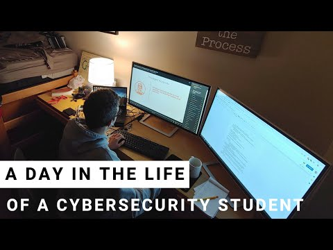 Day in the Life of a Cybersecurity Student