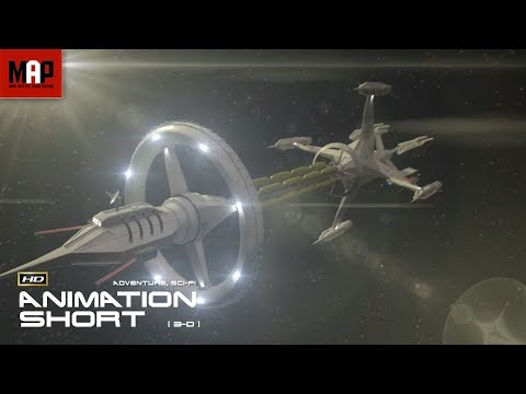 "Thumbnail: Sci-Fi VFX 3D Animated Short Film ""GALAXY OF GHOSTS: INTRODUCTION"" Space Thriller by Serge Patlai"
