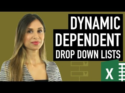 Smart Dep. Drop-Down Lists In Excel: Expandable & Exclude Blank Cells