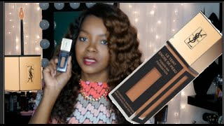 YSL FUSION INK FOUNDATION B70 MOCHA REVIEW FOR SENSITIVE SKIN