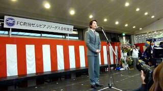 2011/12/18 @玉川学園 当代一の二枚目スタア・谷原章介さんからのご祝辞.