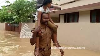 Kerala rain : മഴക്കെടുതിയിൽ മുങ്ങി തലസ്ഥാന നഗരം