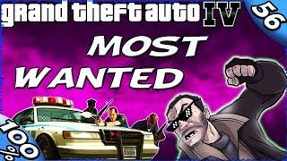 GTA IV - MOST WANTED- Alderney City [100% Walkthrough]