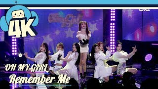 [4K & Focus Cam] OH MY GIRL - Remember Me  @Show! Music Core 20180929