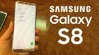 Gold Galaxy S8 Plus leaked with S8 Launcher!!!