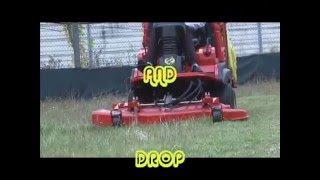 MAN ON A  MISSION WITH A GIANNI FERRARI THE MOWER OF ALL MOWERS.wmv