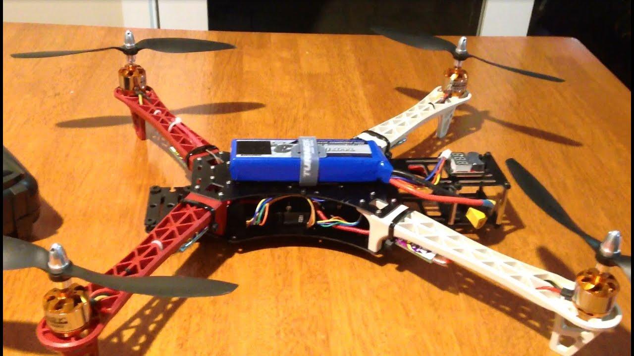 Reptile 500 550 Quadcopter