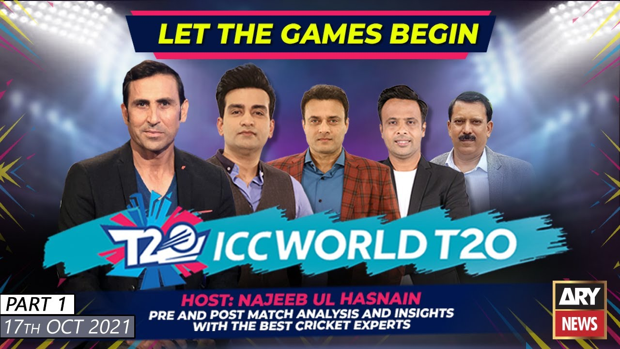 Download Special Transmission | ICC T20 World Cup With NAJEEB-UL-HUSNAIN | 17th OCT 2021 | Part 1