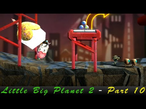 Little Big Planet 2 w/ FamicomKing [Part 10 - Leaving The Factory]