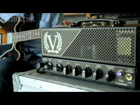 Victory V30 'The Countess' electric guitar amplifier demo