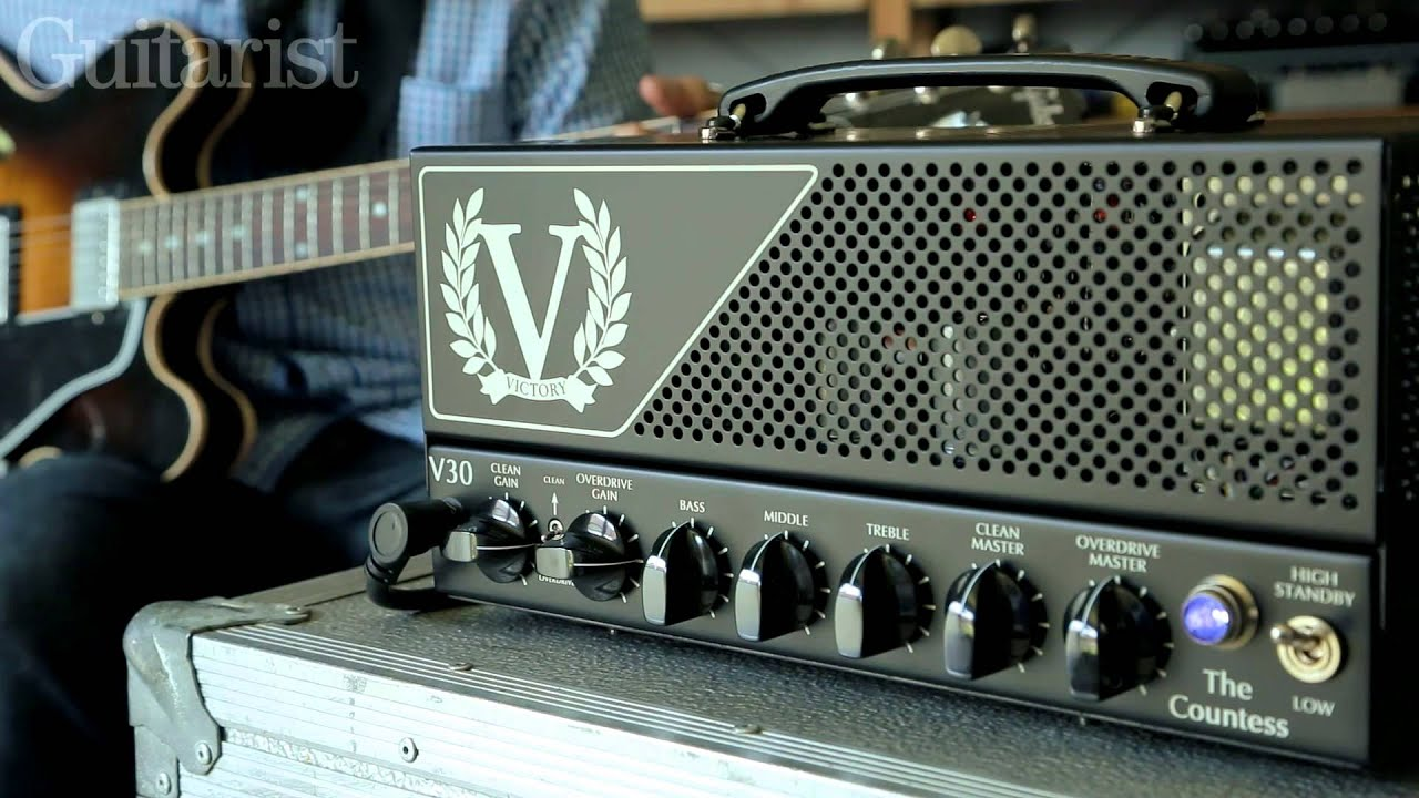 victory v30 the countess electric guitar amplifier demo youtube. Black Bedroom Furniture Sets. Home Design Ideas