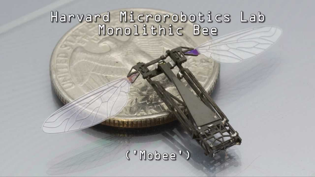 Pop-up Fabrication of the Harvard Monolithic Bee (Mobee)