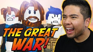 REACTING TO THE LAST GUEST 4: THE GREAT WAR! (Roblox)