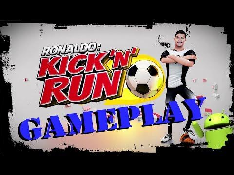 Ronaldo - Kick'n'Run ● GAMEPLAY (Android/IOS)