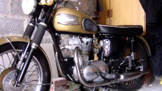 triumph 350 3ta 1958 mpg