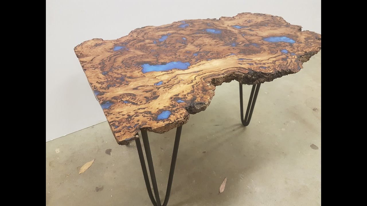 How To Make An Epoxy Coffee Table   YouTube