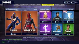 06.07 Shop fortnite Red Knight returned!!! For this new emote and legendary skin!