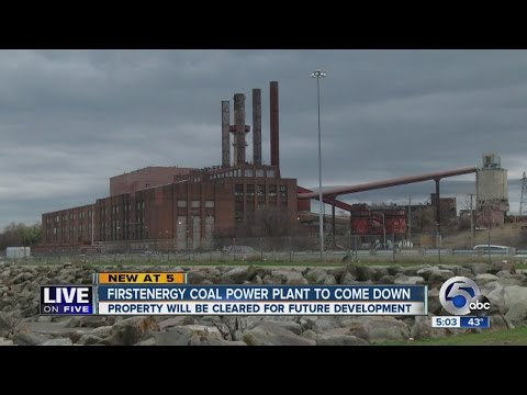 Cleveland power plant to come down