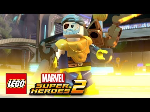 LEGO Marvel Super Heroes 2 - How To Make Cable (Nathan Summers)