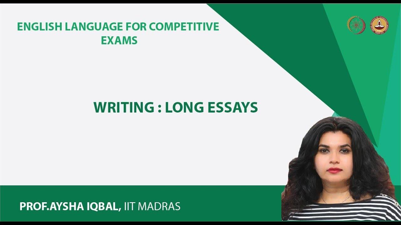 Essay main body