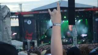 METALLICA live at Download Festival 2012 - Master of Puppets
