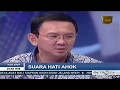 "SUARA HATI AHOK (FULL) KICK ANDY ""24 Maret 2017"""