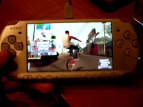 GTA San Andreas on PSP - YouTube
