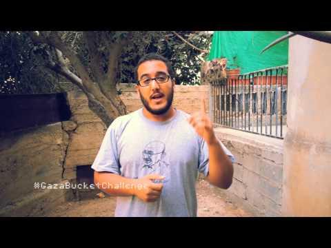 Gaza Bucket Challenge- Rafeeq Hamawi- Rubble Bucket Challenge