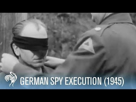 US 7th Army Firing Squad Execute German Spy