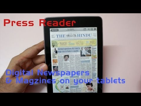 App Review - PressReader Digital Magazine & Newspapers