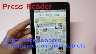 App Review - PressReader Digital Magazine & Newspapers