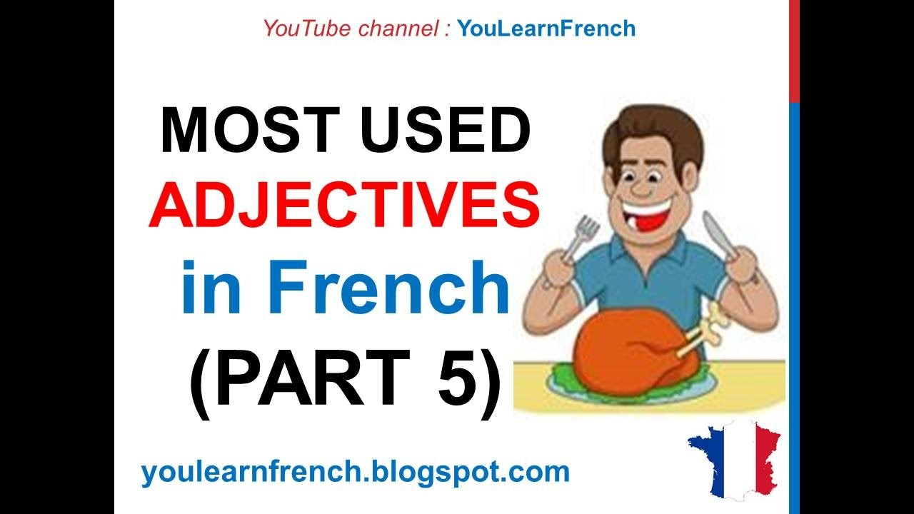 100 most common french words pdf