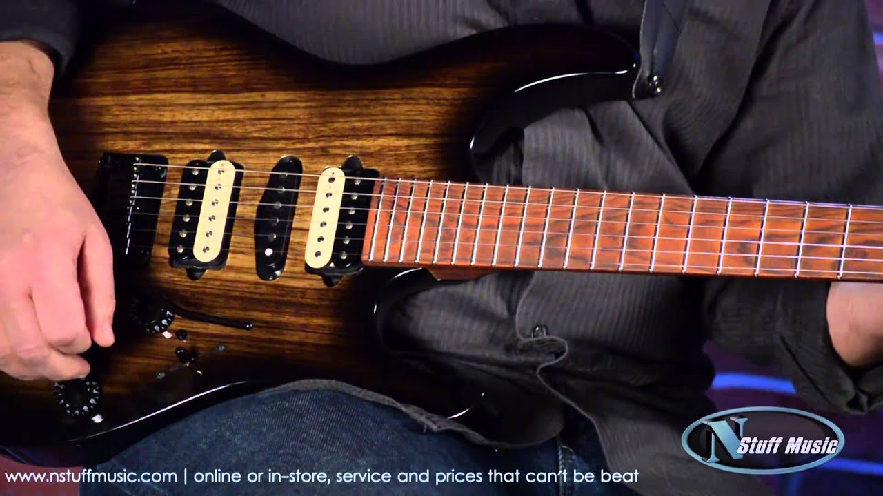 suhr modern custom electric guitar black burst n stuff music product review [ 1280 x 720 Pixel ]