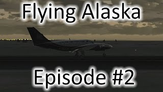 FSX | Flying Alaska Ep. #2 - Barrow to Point Hope | Cessna F406