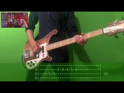 twenty one pilots Tear In My Heart Bass Cover with tab