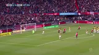 Robin Van Persie's Amazing Free Kick Goal vs Vitesse